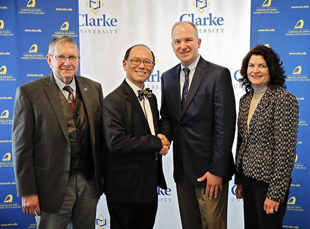 Northeast Iowa Community College and Clarke University develop new partnership