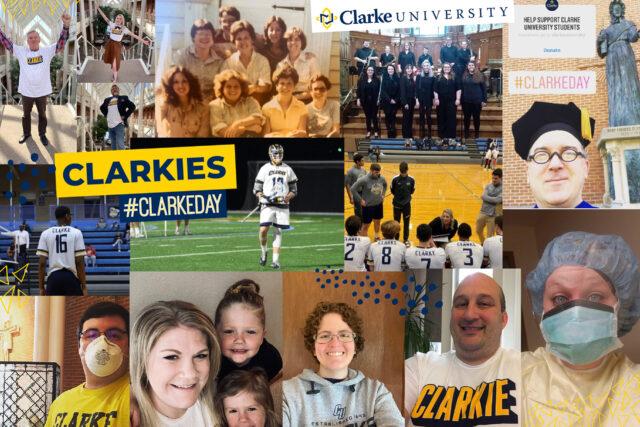 #ClarkeDay social media
