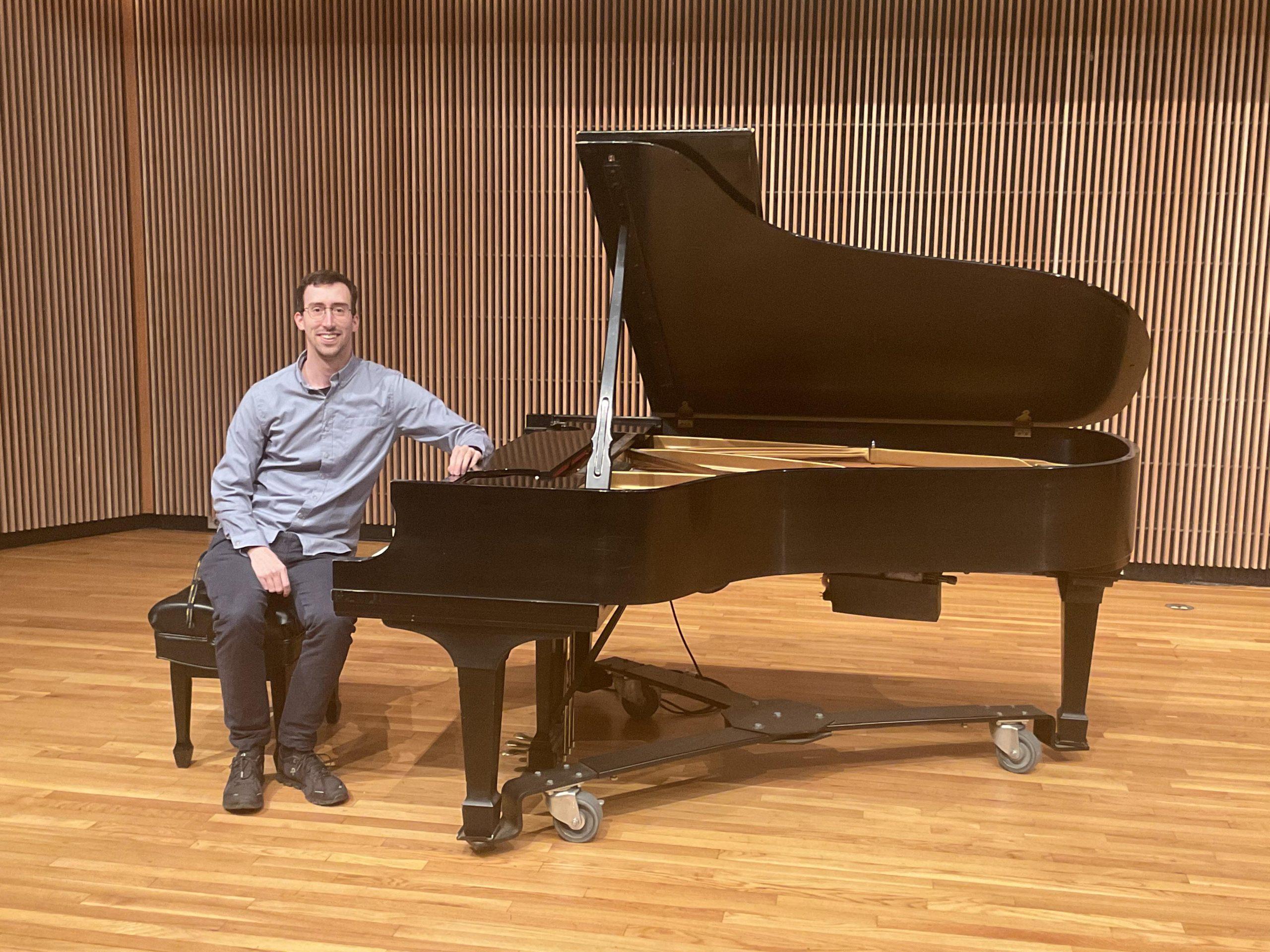 Anthony Capparellii at Clarke University.