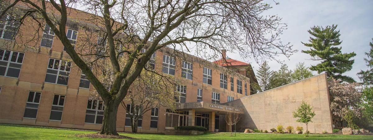 Clarke University Philosophy program building