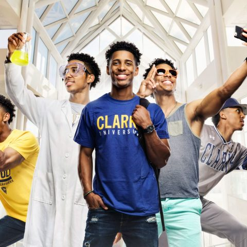 Clarke University student Ricky enhanced his college experience by participating in many Clarke University clubs and activities.