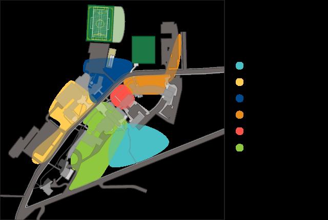 2018 Clarke Campus Map