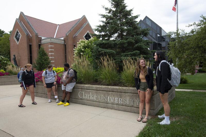 Clarke University student enrollment record