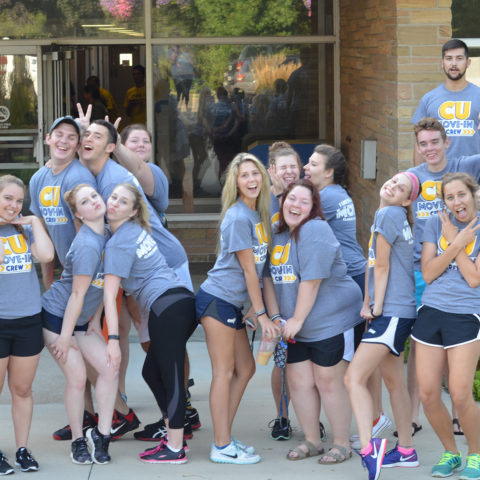 Move-in crew on Move-In day