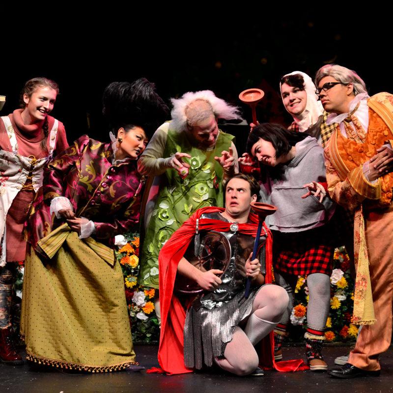 Drama performance of Triumph of Love