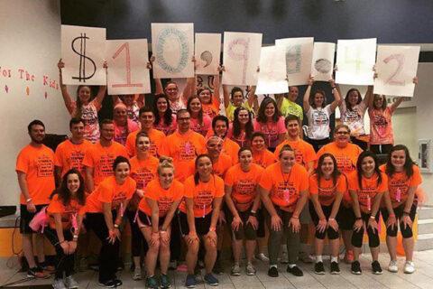 Clarke University student Dance Marathon