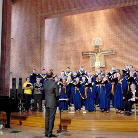 Clarke University Students Performing in the Ensemble Choir