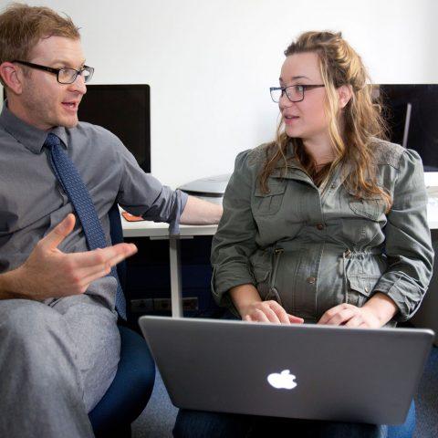 Graphic Design Program Instruction at Clarke University