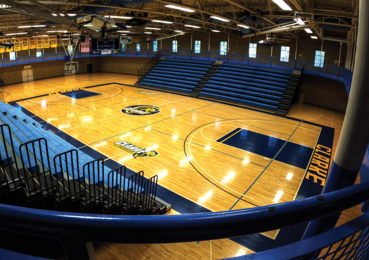 Clarke Basketball Court