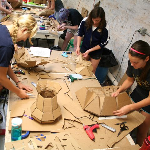 Students are able to take a sculpting class