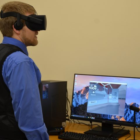 Clarke University Computer Information Systems Virtual Reality Simulation