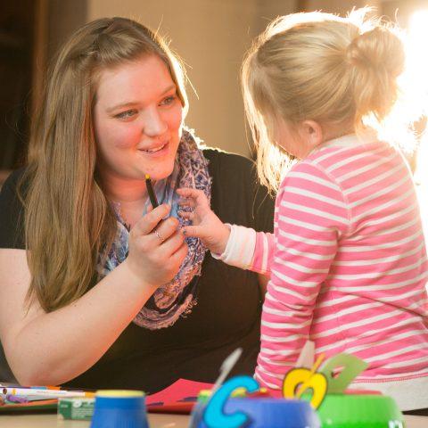 Education Major Katie Van Buer