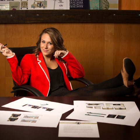 Graphic Design Degree Program graduate Catherine Savitch