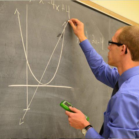 Math and Education Major Matt Naber