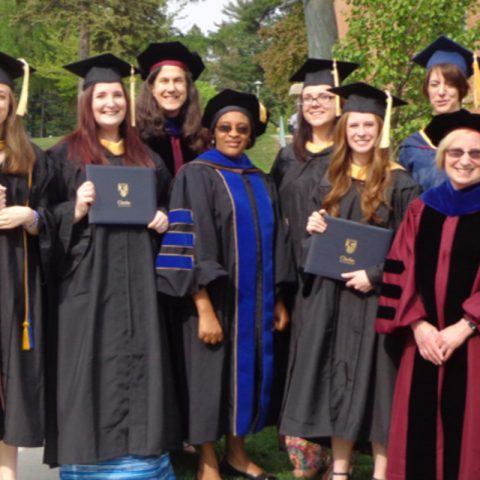 Clarke University Social Work Degree Graduates