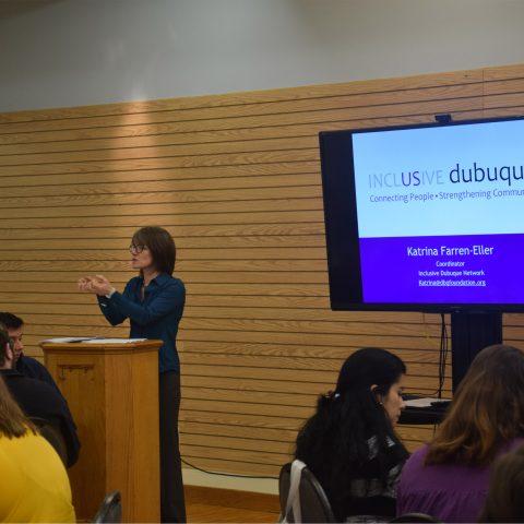 Clarke University Social Work Program Lectures