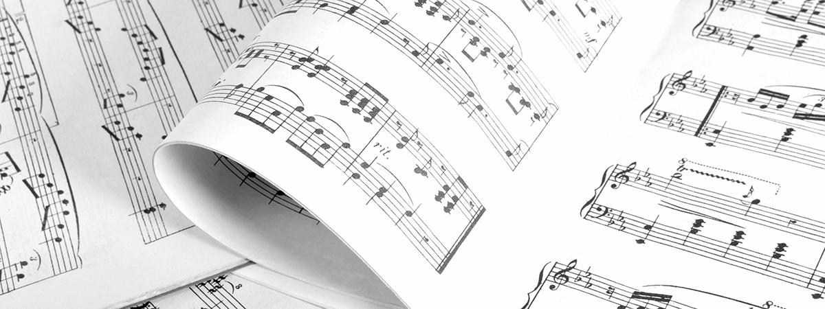 Music Sheet Music For Clarke University Music Majors