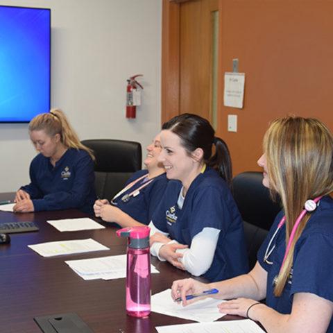 Nursing majors in Clarke University's highly ranked BSN Major