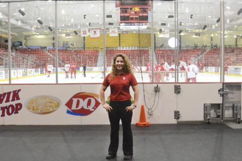 Sonia Colavita, Clarke University Sport Management Internship