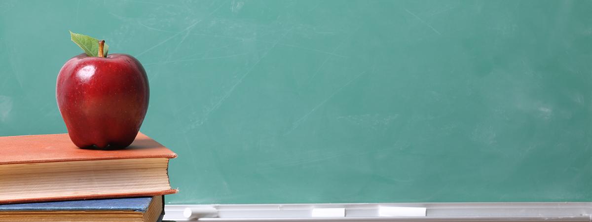 Apple in Clarke University classroom