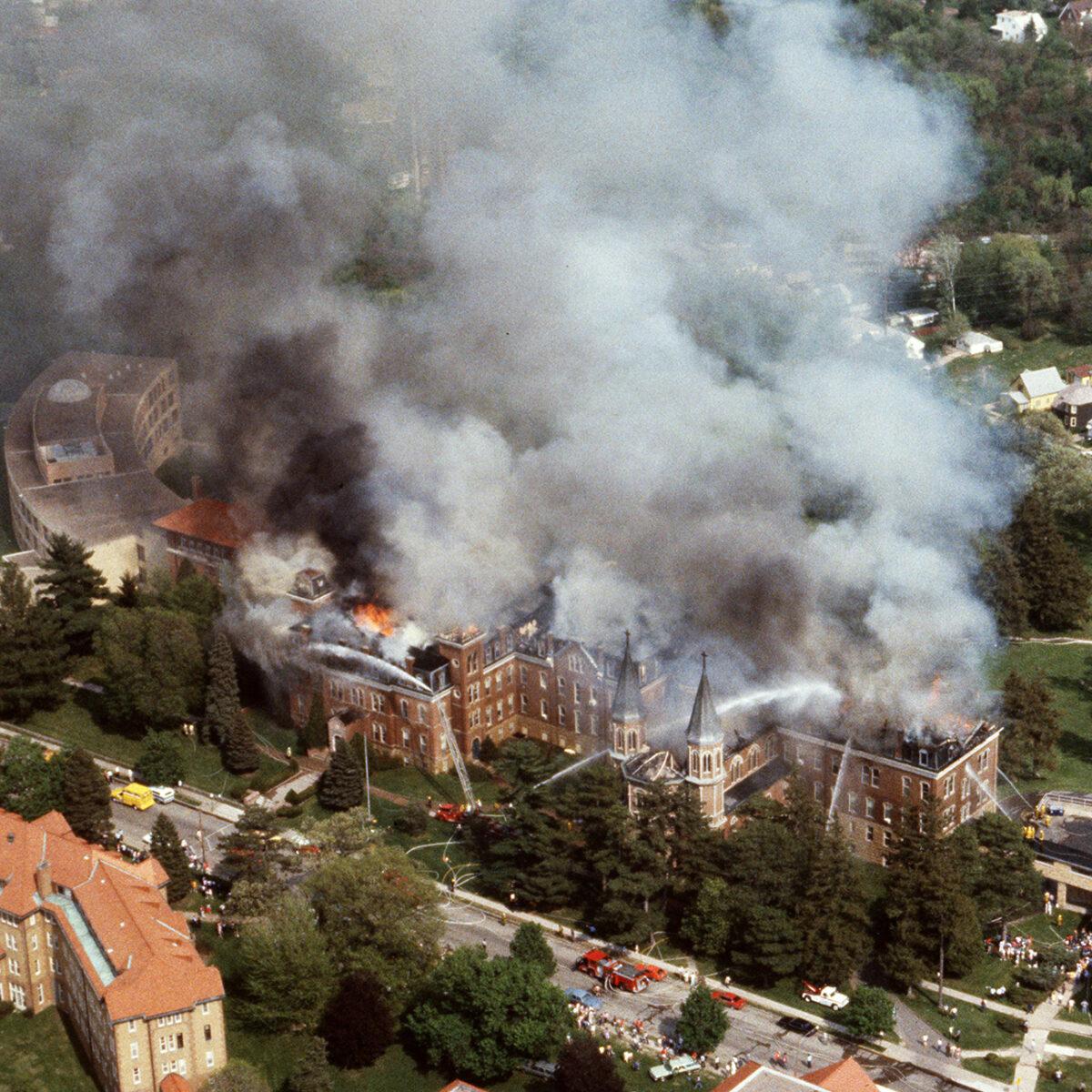Clarke College fire